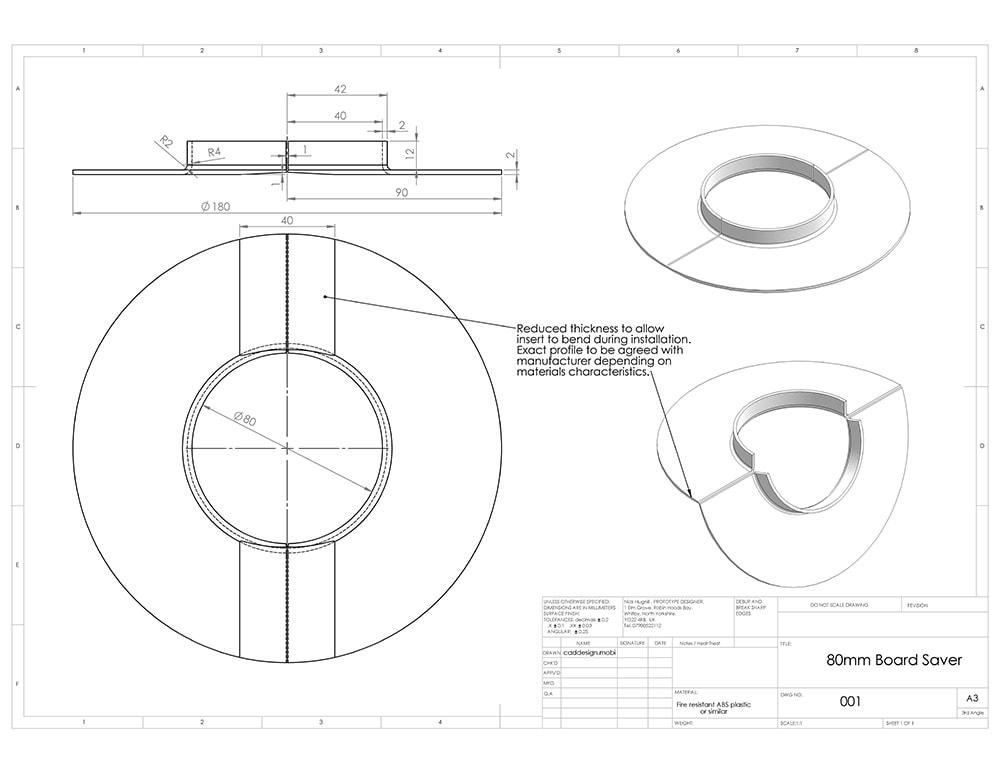 Prototype Design Cad Service