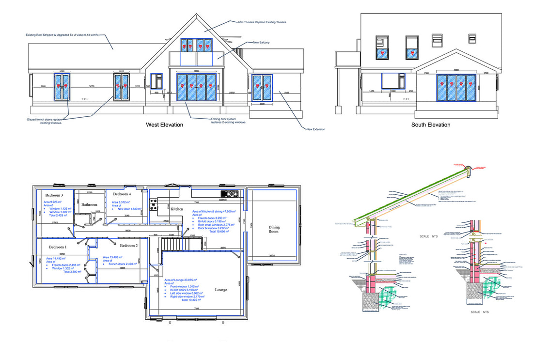 Construction drawings - ONLINE CAD SERVICES UK
